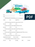 biome survey