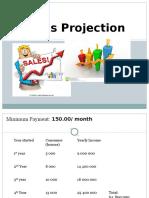 Daniel Sales Projection