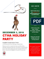 ctha holiday party 2016