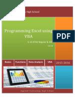 Programming Excel Using VBA V3