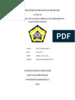 Laporan Praktikum Irigasi Dan Drainase Acara 11