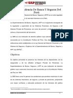 Superintendencia de Banca y Seguros Del Perú