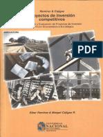 Proyectos de Inversion Competitivos Formulacion y Evaluacion