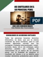 Medidas Cautelares en El Codigo Procesal Penal