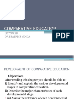 Comparative Education Lecture on 10th May 2016