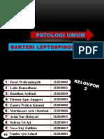 BAKTERI LEPTOSPIROSIS