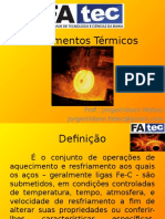 Tratamentos Térmicos -Aula 1