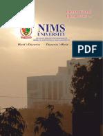 NIMS International Prospectus