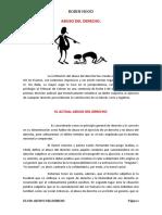 El Abuso Del Derecho en El Peru
