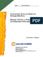 Agropecuaria - Manual Tecnico - Conversion de La Luz Solar en Energia Electrica