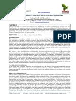 STUDY OF FISHMARKET IN PAITHAN, DIST.AURANGABAD MAHARASTRA.
