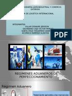 Regímenes Aduaneros de Perfeccionamiento Exposicion