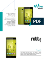 Manual Wiko Rooby