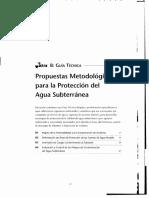 GWMATE-proteccion de Aguas Subterraneas