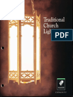 Manning Traditional Church Lighting Catalog T7 1999