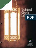 Manning Traditional Church Lighting Catalog T7 1999