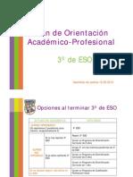 Plan de Orientación Académico-Profesional 3º ESO