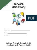 harvard elementary science handbook