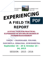 A Field Trip Report of Bachelor of Tourism Management