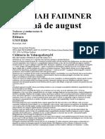 William Faulkner - Lumina de august.doc
