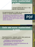 _Salir Del Euro - Austeridad o Caos