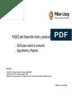 Juanjo Quintela Seguimiento Del Desarrollo Motor Guia y Registro