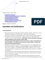 Apostilles and Certifications - NHSOS