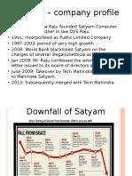 Satyam Case
