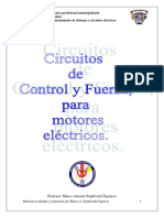 circuitos de control y fuerza para motores