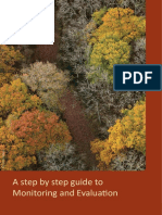 A Step by Step Guide to Monitoring and Evaluation