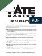 Fate Basico Erratas 20151124