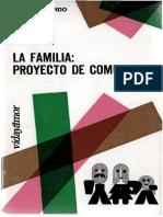 La Familia, proyecto de comunidad. Espeja Pardo, Jesús