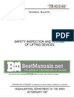 The Lifting Device Safety Manual