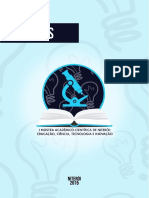 Anais da I Mostra Acadêmico-Científica de Niterói