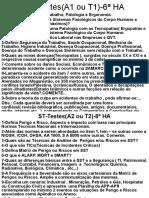 ST-216-Testes Ou Atividades Semanais