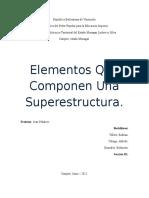 Elementos Que Componen Una Superestructura.