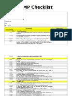 GMP Checklist.doc