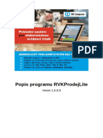 EET Pokladní Program Manuál