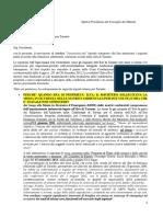 Istanze Urgenti Per Taranto Per Il Prefetto e Il Governo Italiano