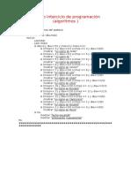 Trabajo Interciclo de Programación