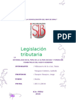 La Informalidad en El Peru en La Última Decada