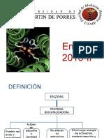 Clase 2- Bioquimica Enzimas2016