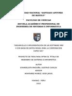 Proyecto de Tesis 2015 - Sistema MRP II