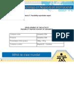 Evidencia7 Feasibility Exportation Report