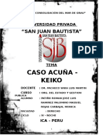 INFORME Keiko Acuña