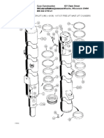 14 Foot Free Lift Mast Lift Cylinders