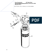 Hydraulic Oil Filter Assembly