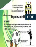 Diploma Jupiter