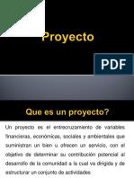 Proyecto y Etapas