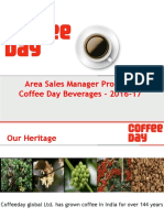 Coffee Day Beverages Presentation-2016-17 ASM (Sales)